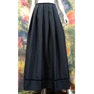 Emma James Black Maxi Evening Occasion Skirt 8